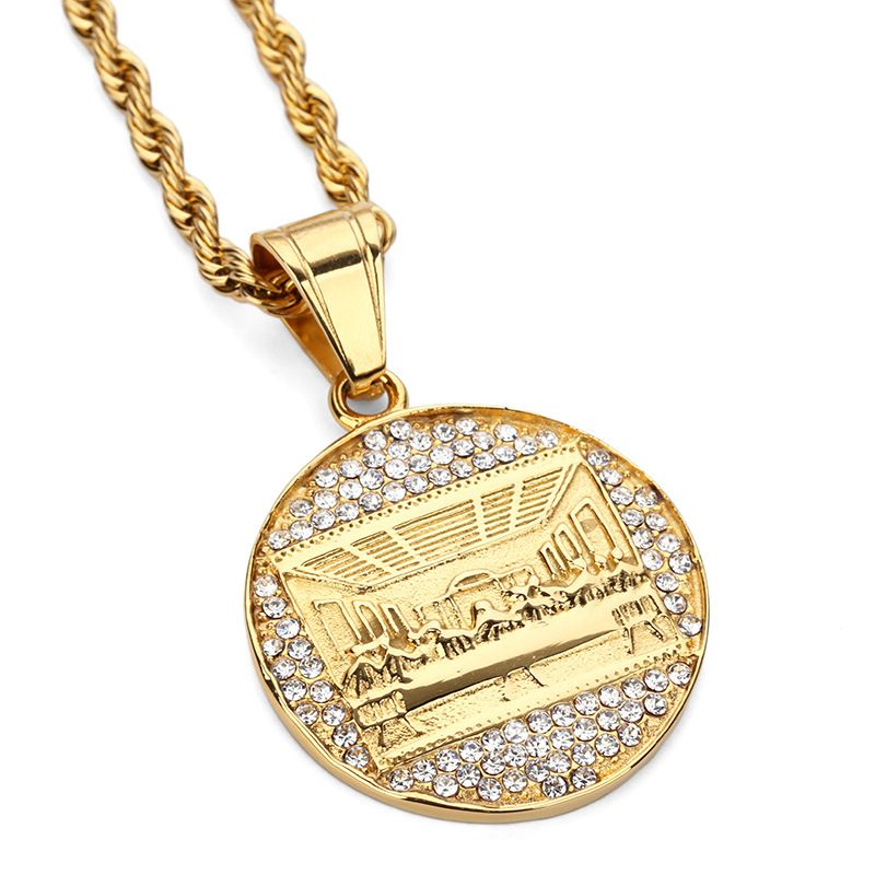 chain rope gold electric chains plug pendant micro