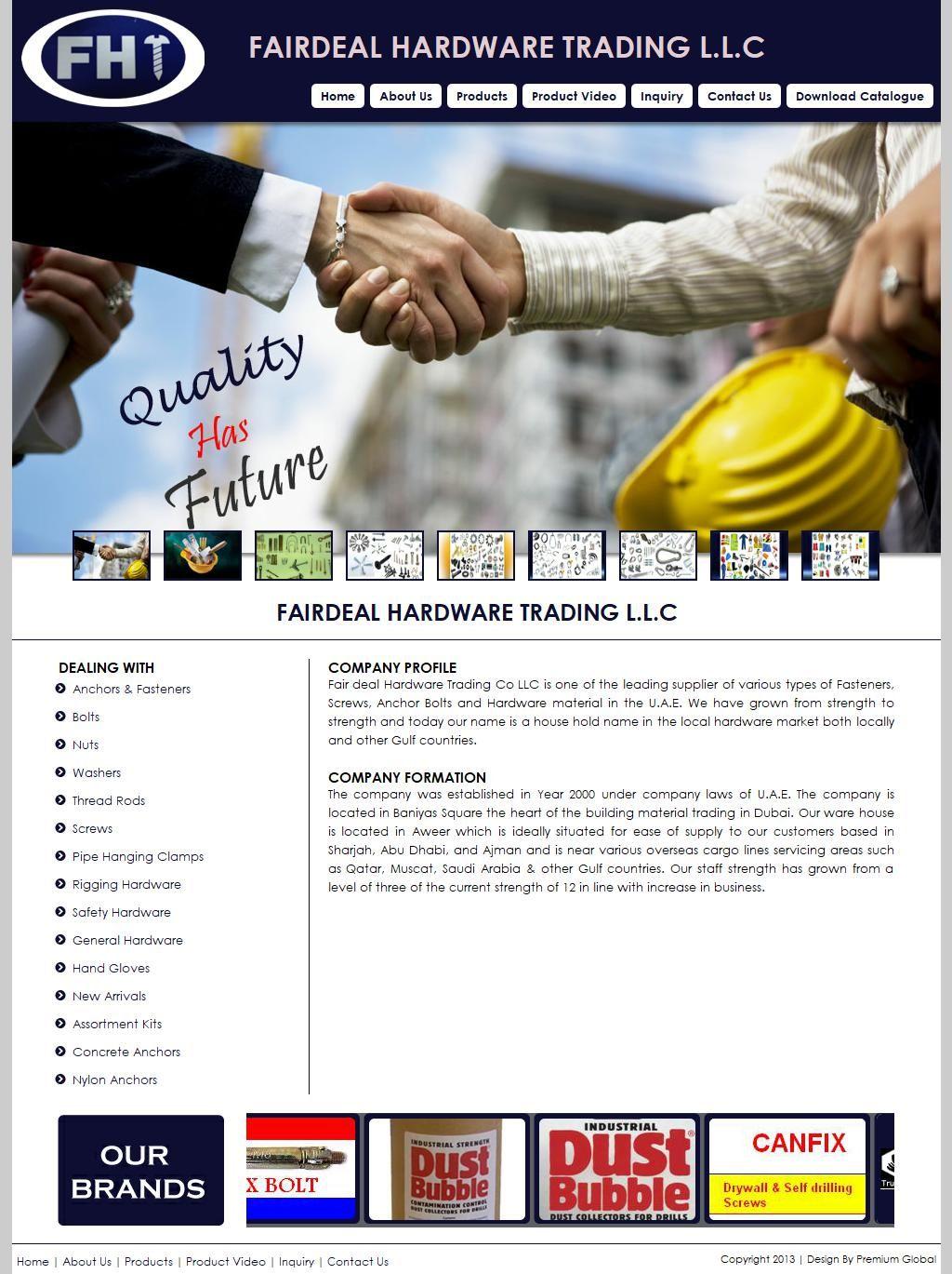 Fairdeal Hardware Trading, Llc Badri Building, 14, Sikka 36a