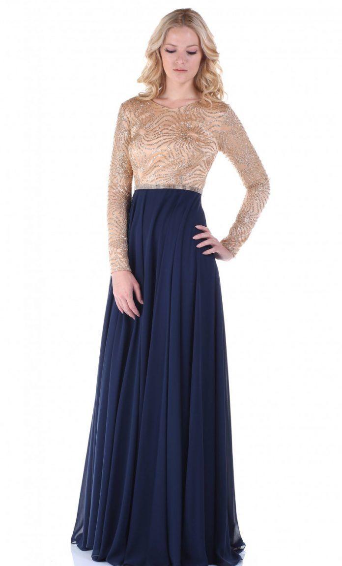 Uzun Kollu Abiye Elbise Modelleri 2017 Koleksiyonlari Elbise Modelleri Elbise Uzun Kollu