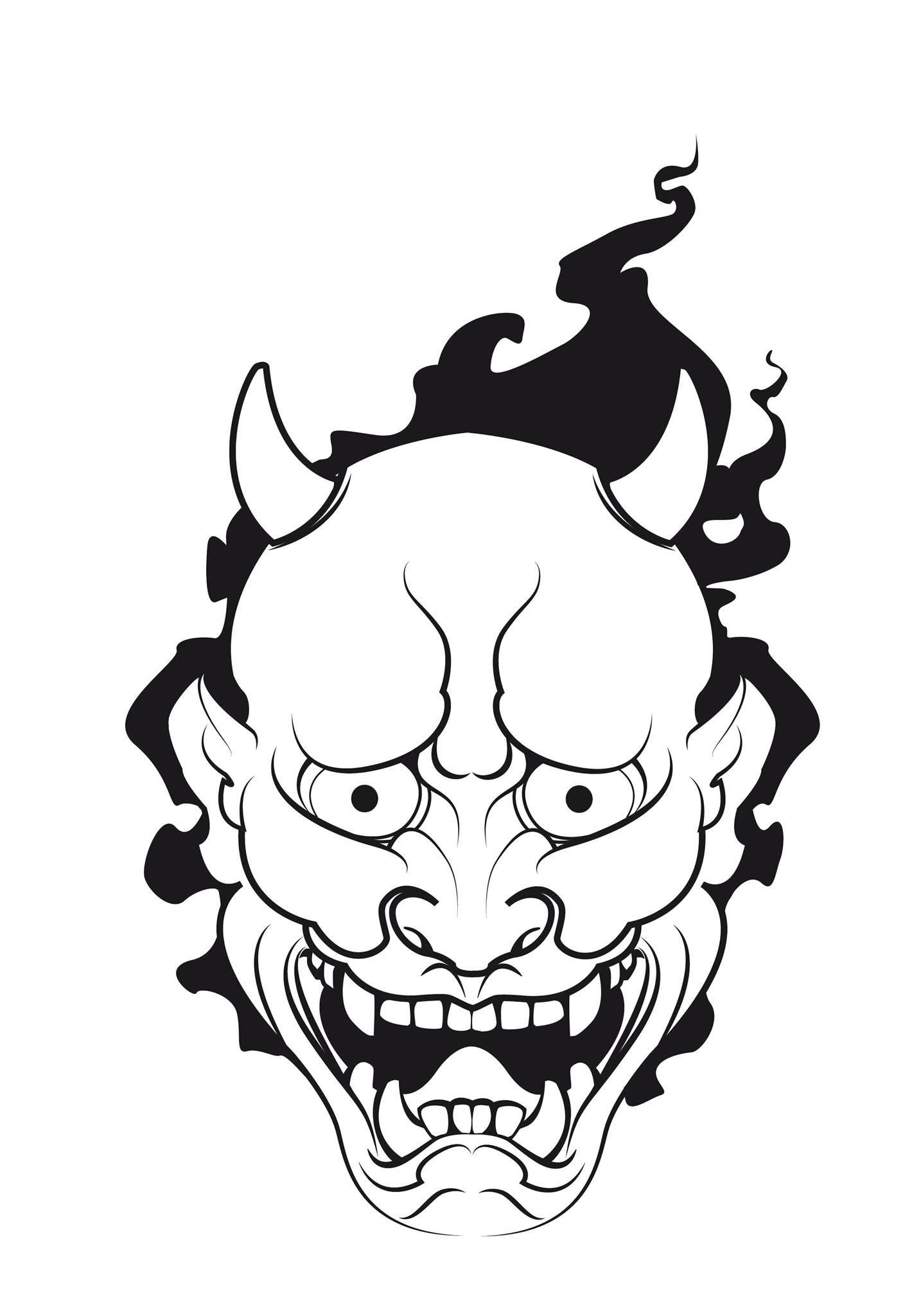 pingl par dhilan sur boye pinterest japonais masque japonais et tatouages. Black Bedroom Furniture Sets. Home Design Ideas