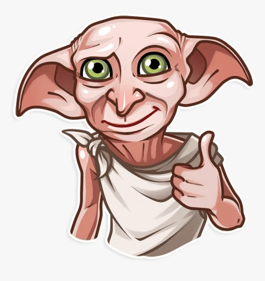 Harrypotter Dobby Sticker Harry Potter Harry Potter Dobby Stickers Hd Png Download Is Free Dobby Harry Potter Harry Potter Stickers Harry Potter Cartoon