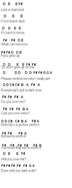 Flute Sheet Music Dark Side Flute Sheet Music Dark Side Sheet