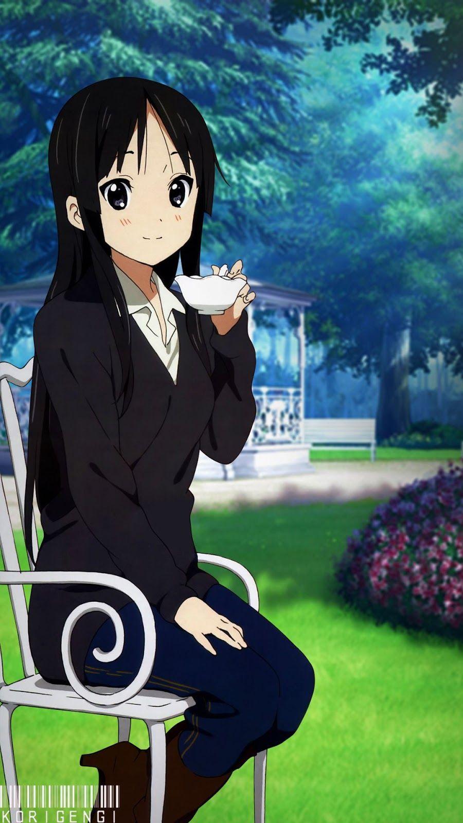 Akiyama Mio V4 Wallpaper Anime Anime Estetika Cinta Anime Akiyama mio k on wallpaper