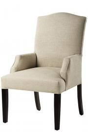 Decorators Supply - Custom Camel-Back Dining Chair