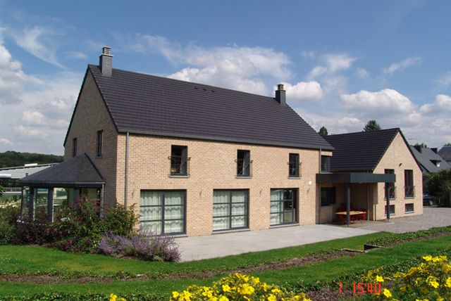 Maison moderne • nouvelle construction • Wierde • www.thomas-piron ...