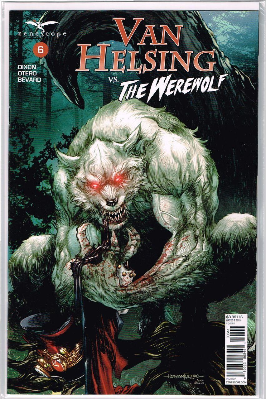 Vault 35 2017 Zenescope Van Helsing Vs The Werewolf #4 Cover A NM
