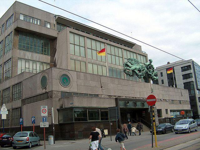 Postgebouw, Oostende by Erf-goed.be, via Flickr