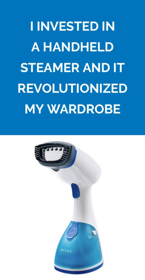 I Invested in a Handheld Steamer And It Revolutionized My Wardrobe | When my cheap steamer became too much to handle, I upgraded to a better, more portable version.