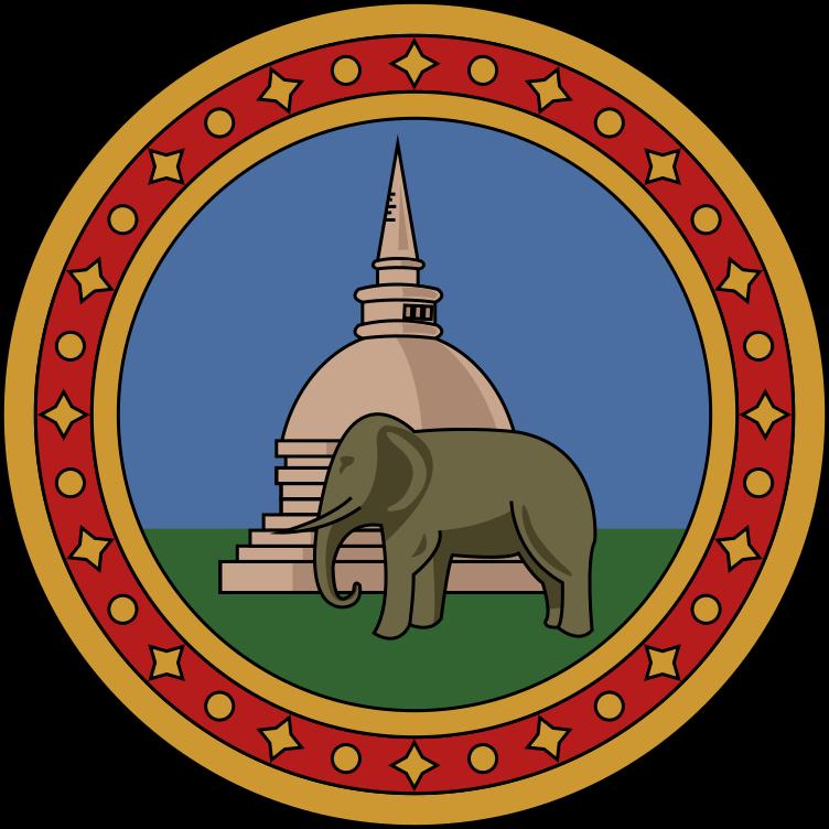 File Badge Of Ceylon 1875 1948 Svg Wikipedia Badge Svg Sri Lanka