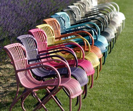 Portofino Outdoor Chairs Vintage Rattan Furniture Modern Patio