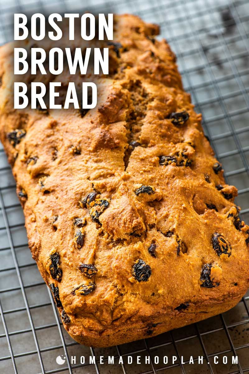 Baked Boston Brown Bread This Baked One Bowl Version Of