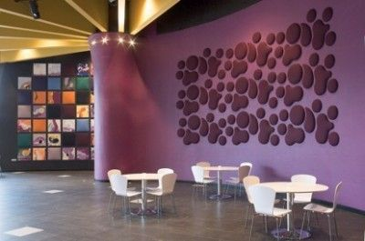 Decorative Acoustic Tiles Woolbubbles Decorative Acoustic Wall Panels From Wobedo Design