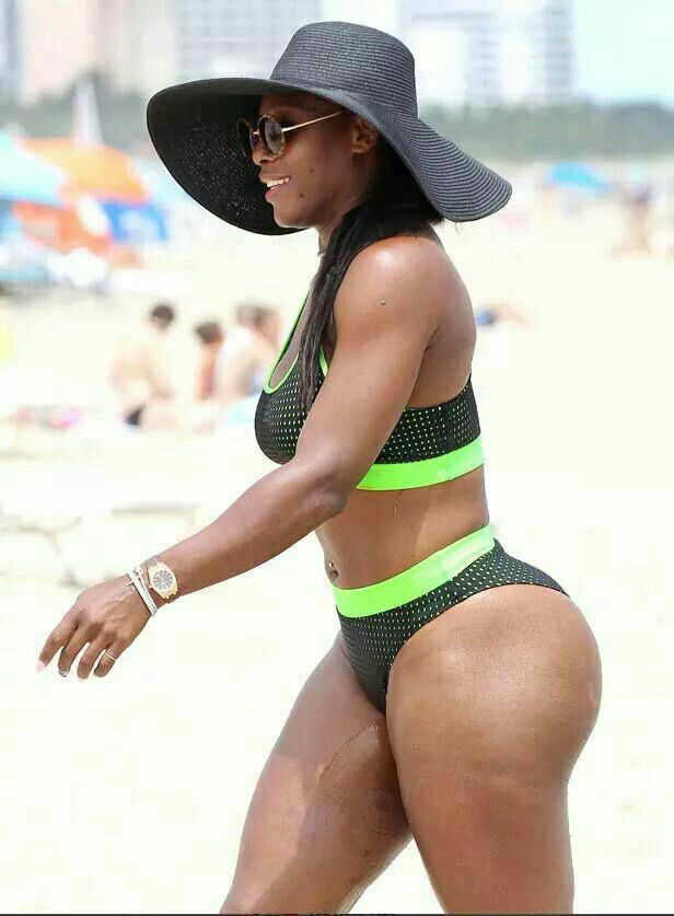 Serena williams body something is