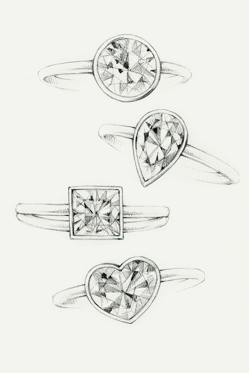 Tiffany Harmony® with Bead-set Band | Tiffany Engagement ...