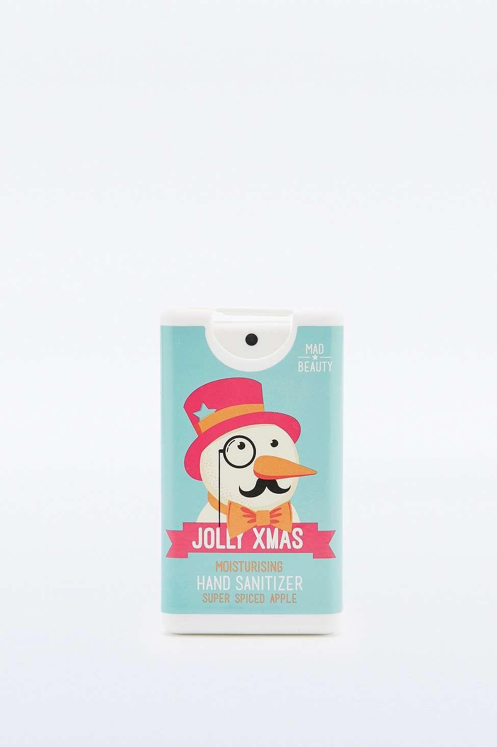 Mad Beauty Jolly X Mas Spiced Apple Moisturising Hand Sanitizer