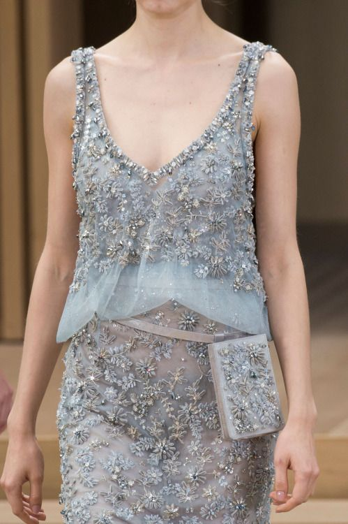 Details at Chanel Couture S/S 2016