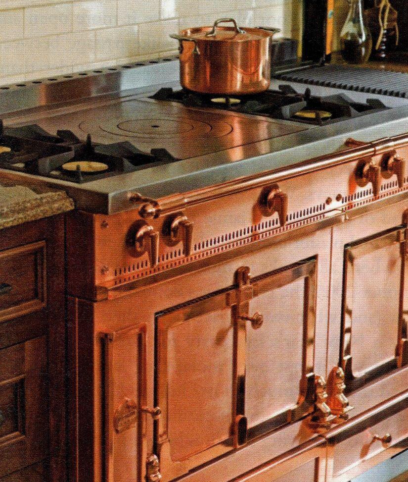Copper Appliances Kitchen copper stove - love | kitchens | pinterest | stove, kitchens and