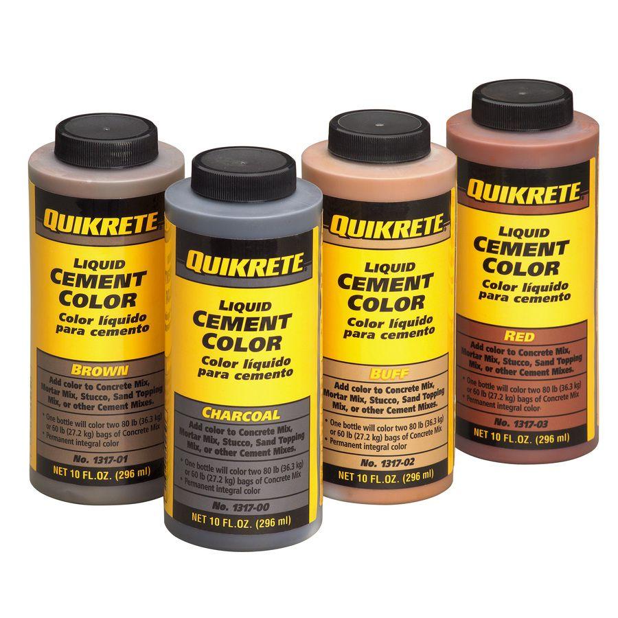 Shop Quikrete Brown Cement Color Mix At Lowes Com Cement Color Pattern Concrete Concrete Color