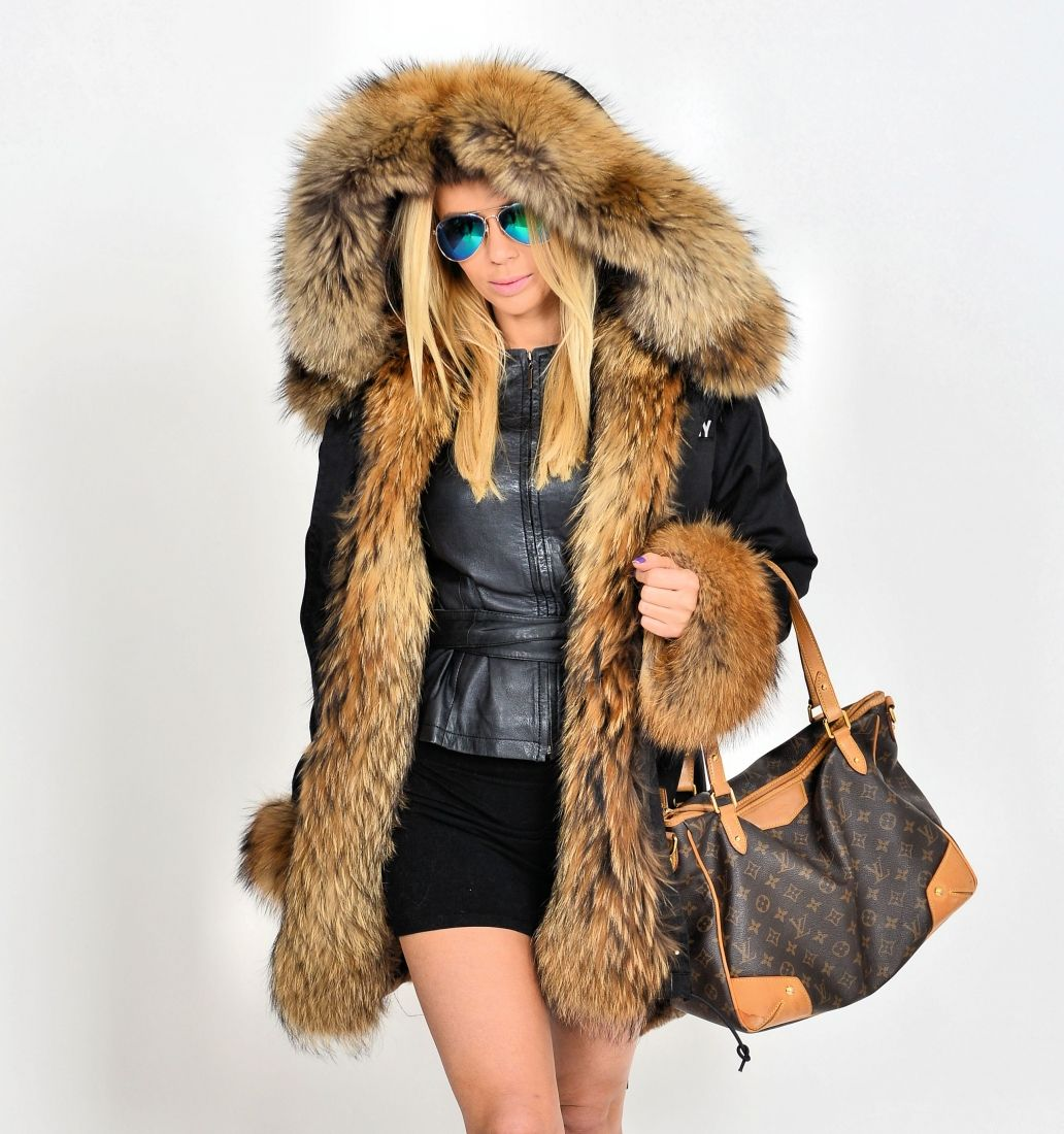 american parka with fur - military parka coat raccoon fur | FUR 2 ...