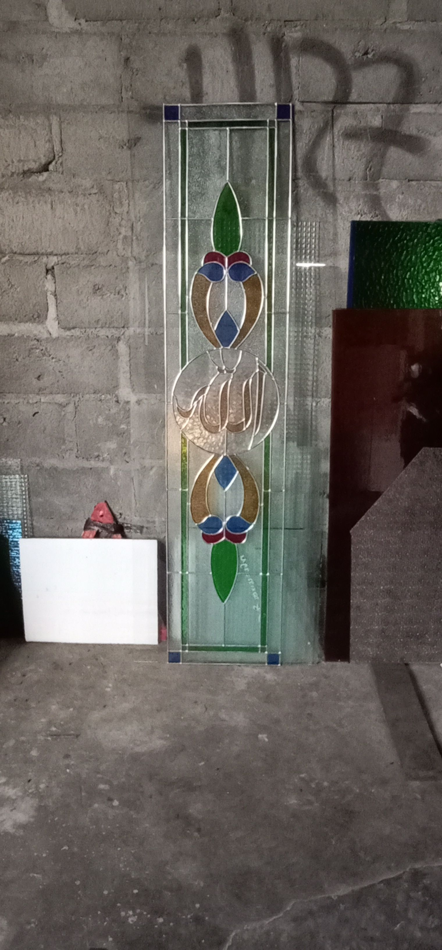 pin oleh fortuna art di kaca patri yogyakarta wa