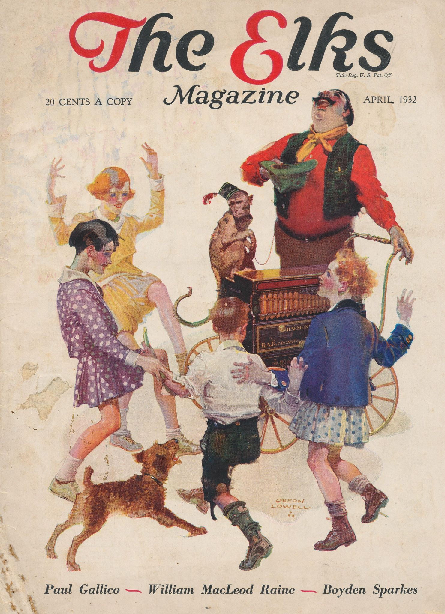 cover the elks magazine april 1932 | by janwillemsen