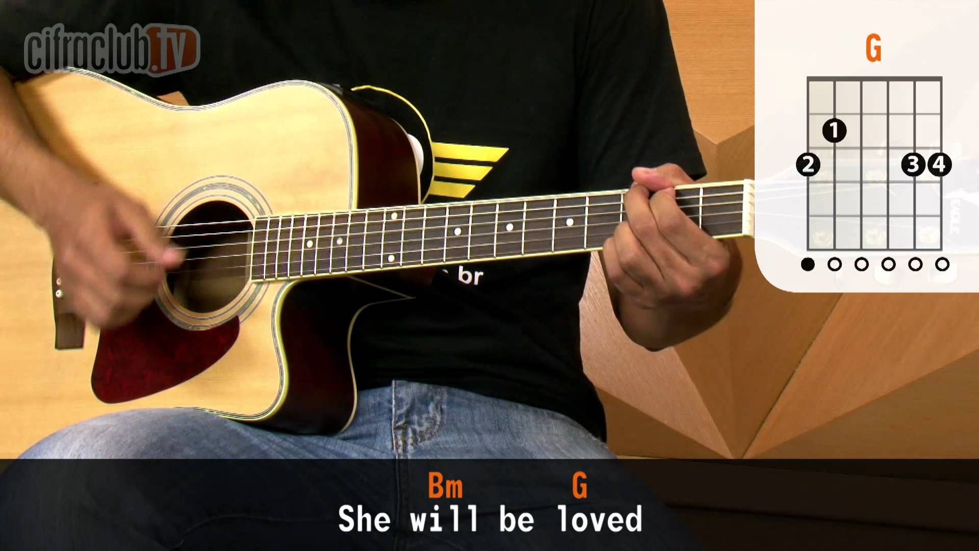 She Will Be Loved - Maroon 5 (aula de violão completa ...