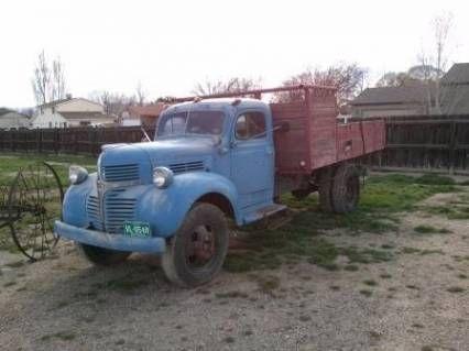 1947 Dodge Other 1947 Dodge Model Wh47 1 1 2 Ton Dump Truck For Sale Oldride Com Classic Trucks Dump Trucks For Sale Trucks