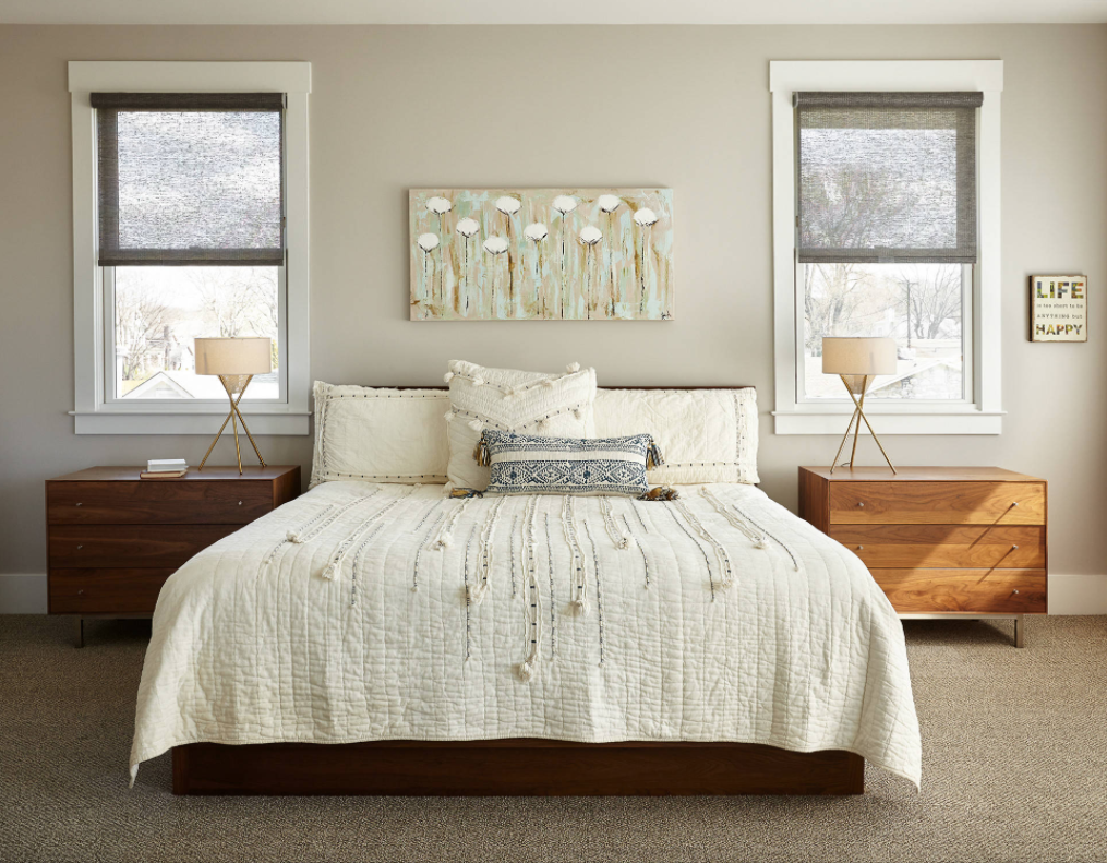 Bedroom Ideas Featured On Houzz Com Cozy Modern Bedroom With Organic Feel Contemporary Bed Design Small Bedroom Designs Bed Design