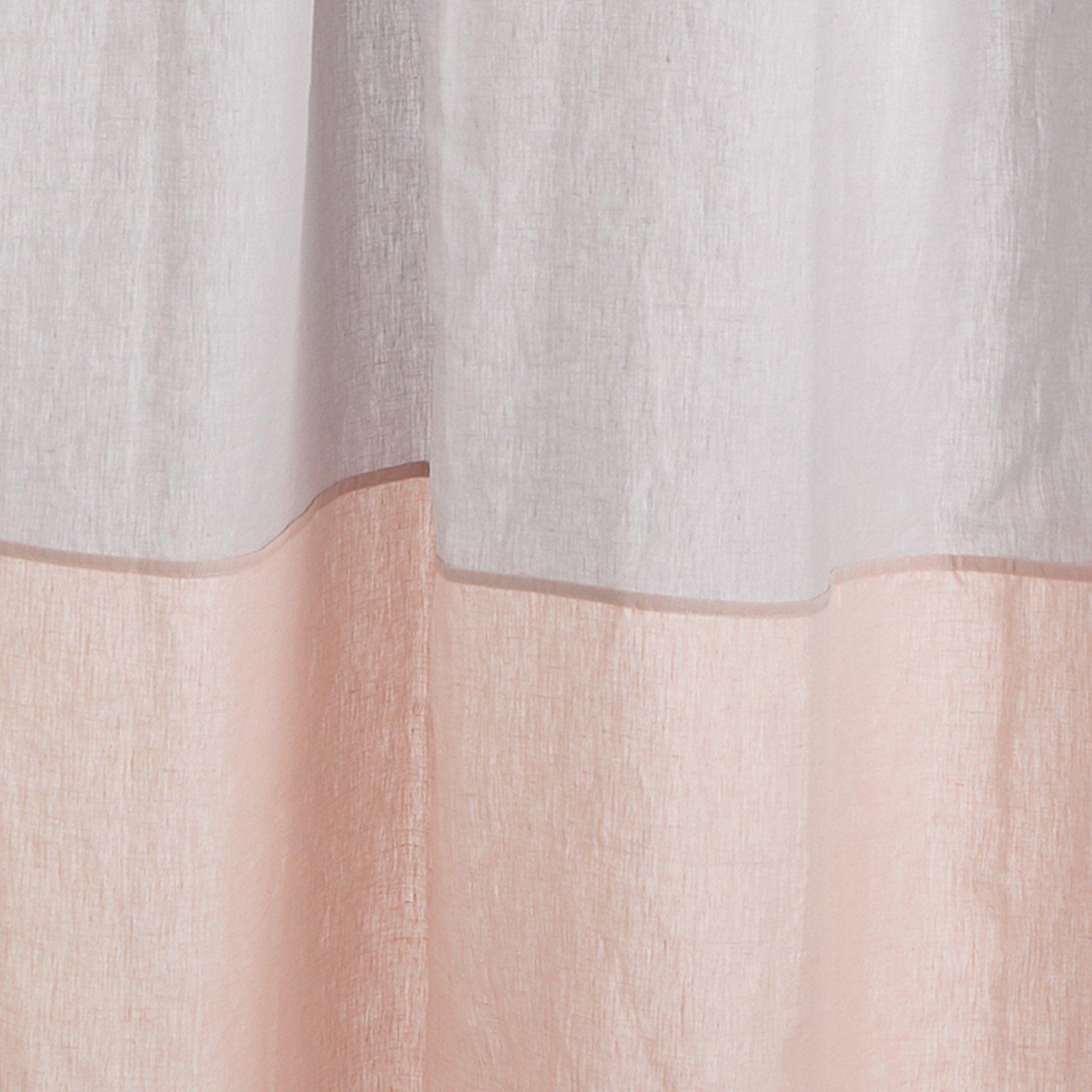 Vorhang Set Cataya Hellgrau Rosa 2 Er Set 140x245 Cm In 2020 Rosa Urbanara Und Grau