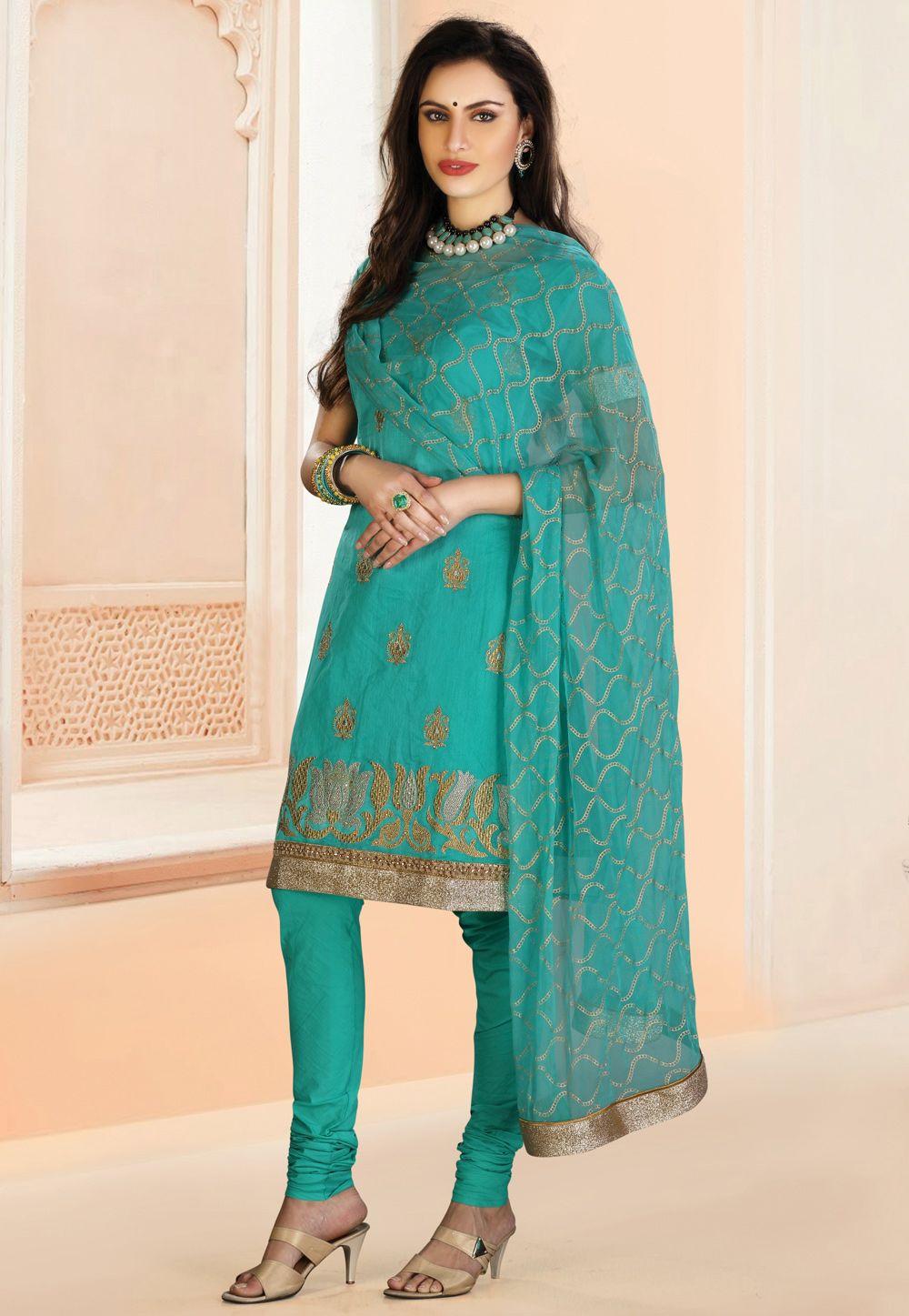 Teal salwar kameez | Indian Wedding | Pinterest | Teal, Desi and ...