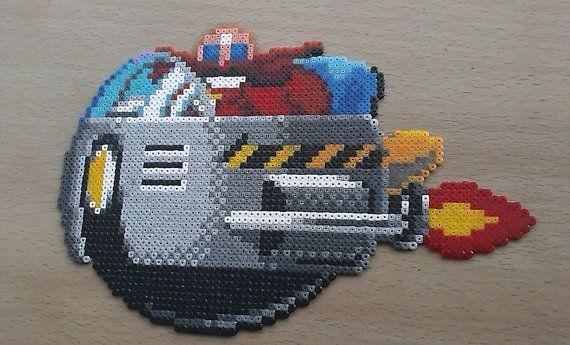 La main Sega Dr Robotnik  Eggman  Bead par PixelBeadPictures