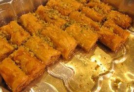lebanese baklava recipe yummy