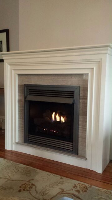Paloma Grey Metropolitian Mantle Vf 26 American Hearth With