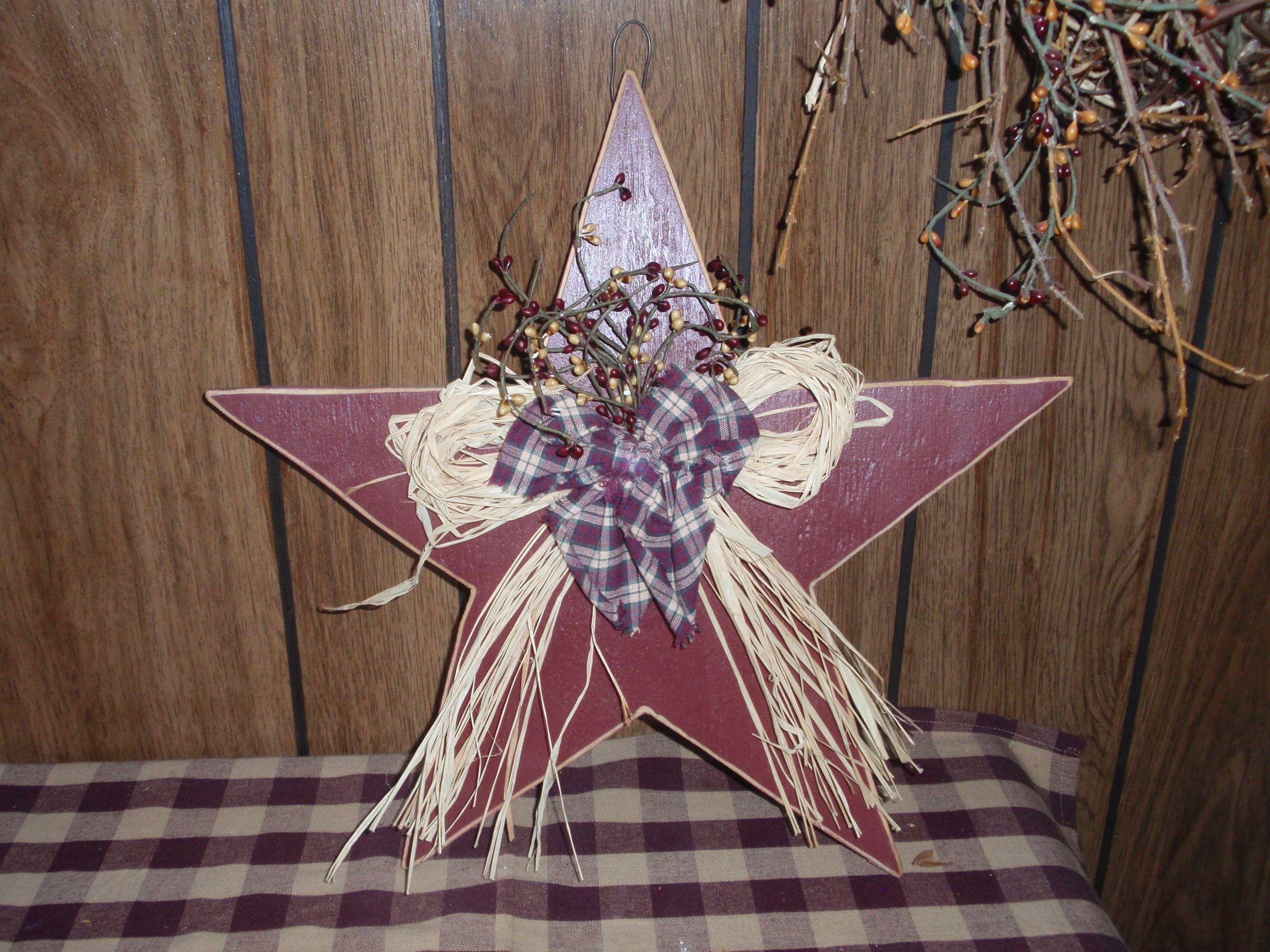 Wooden/Star