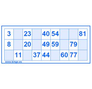 Imprimir Cartones De Bingo Gratis En Pdf Cartones De Bingo Cartas De Bingo Bingo Para Imprimir