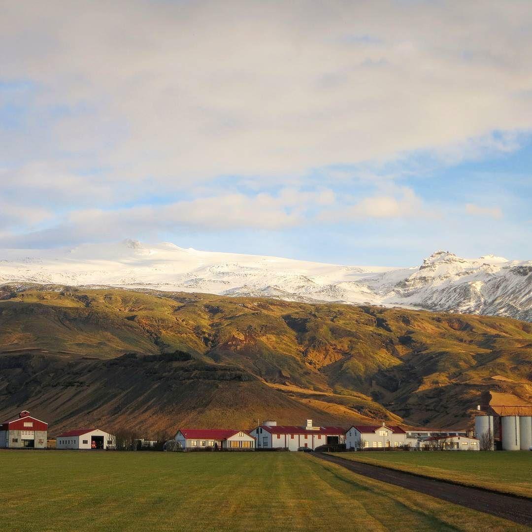 The notorious (& stunning) Eyjafjallajökull volcano  #inspiredbyiceland