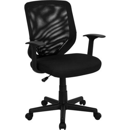 mesh mid-back office chair, black | walmart and products