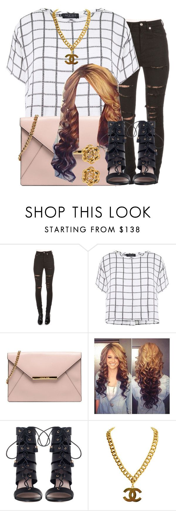 """""""."""" by trillest-queen ❤ liked on Polyvore featuring Yves Saint Laurent, Myne and Zimmermann"""