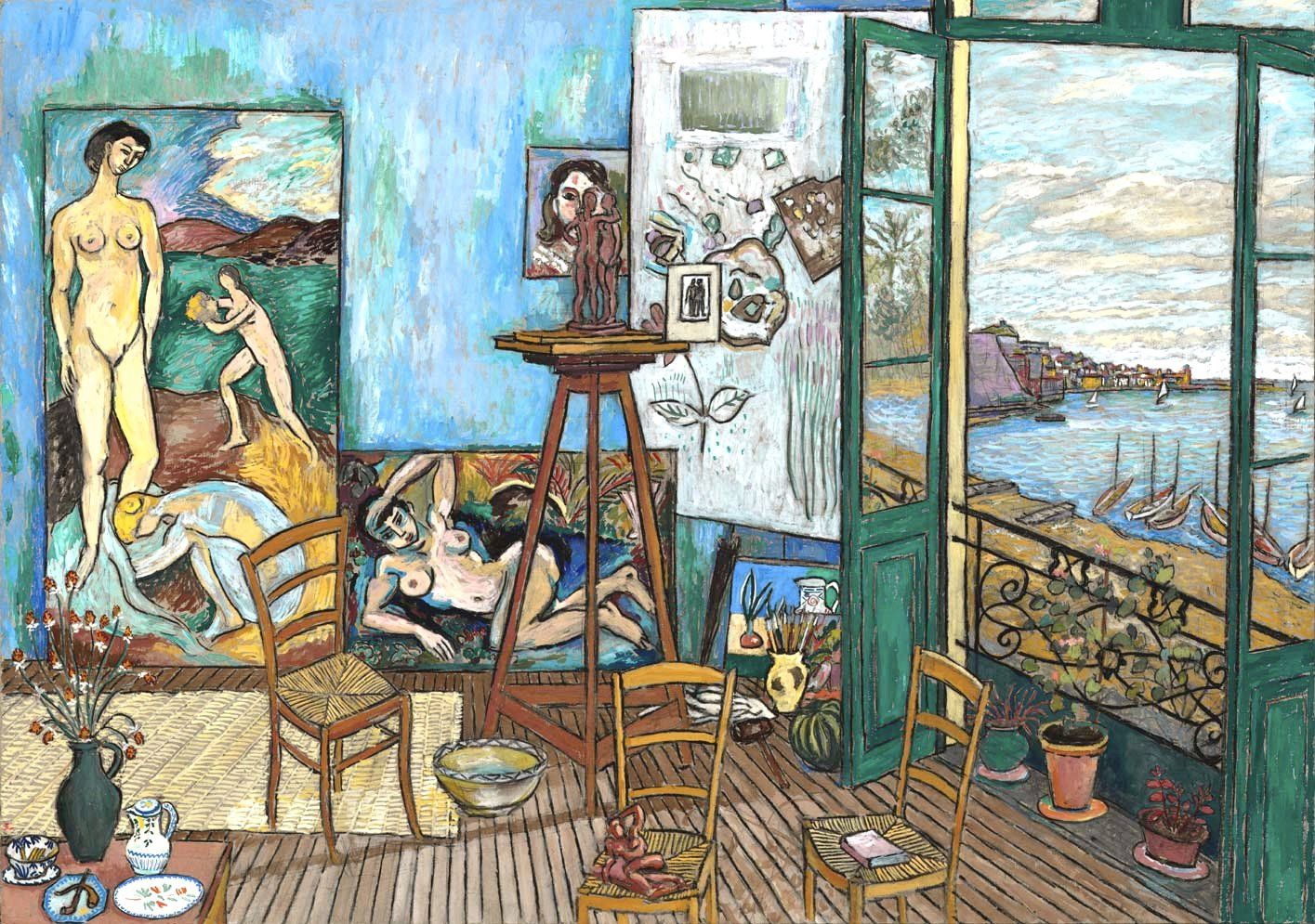 Matisse 39 s studio collioure 1907 damian elwes artish for Matisse fenetre ouverte collioure