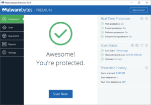 Malwarebytes Anti-Malware 3.0.6 Serial Key software that is useful securing your device from more advanced threat, easily identify