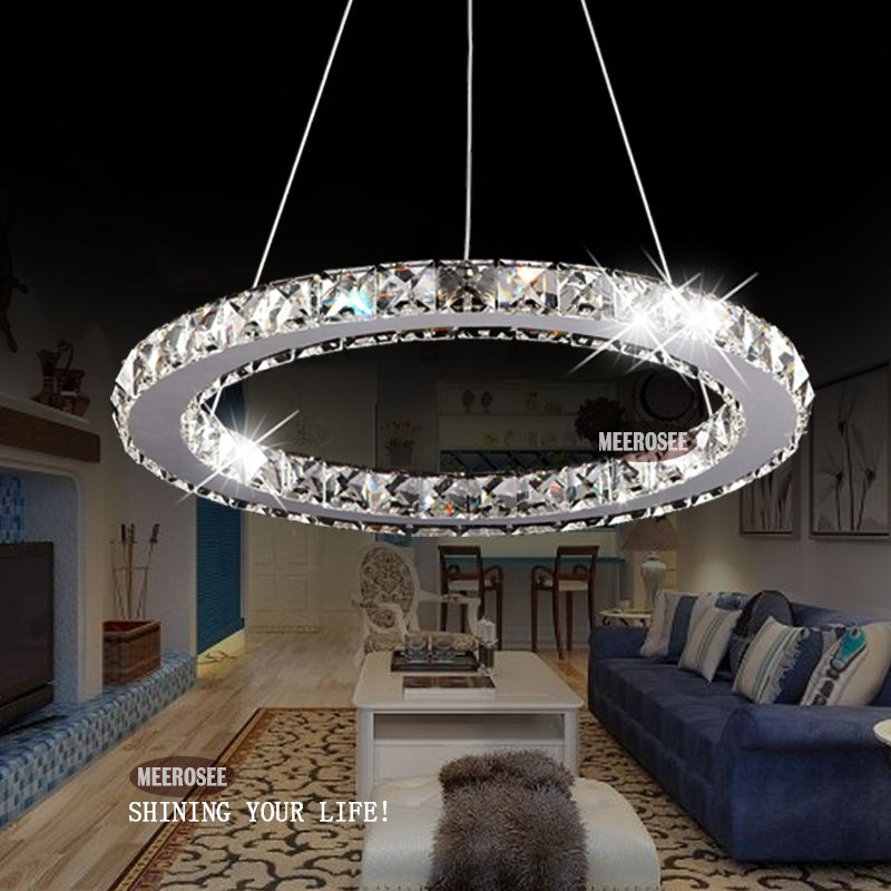 New Arrival Led Crystal Chandelier Light Diamond Crystal Pendant Lamp Fast Shipping Raimond Ring Lamp 9 Crystal Light Fixture Crystal Chandelier Crystal Lamp