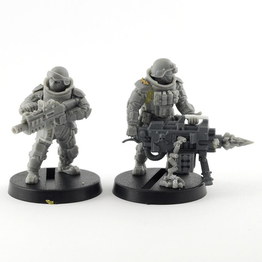 anvil industry regiments conversion 3rd party 40k bits and models