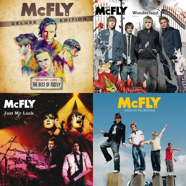 A Playlist Featuring Mcfly With Images Mcfly Playlist