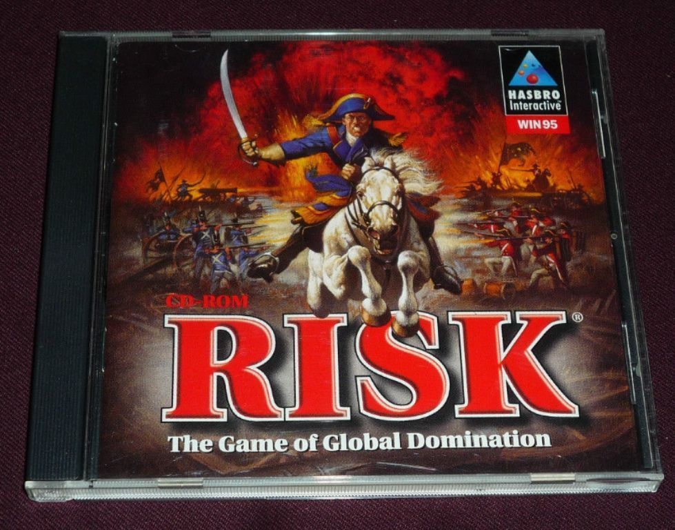 Risk ( Windows 95 PC, 1997) Complete with Case & Cover