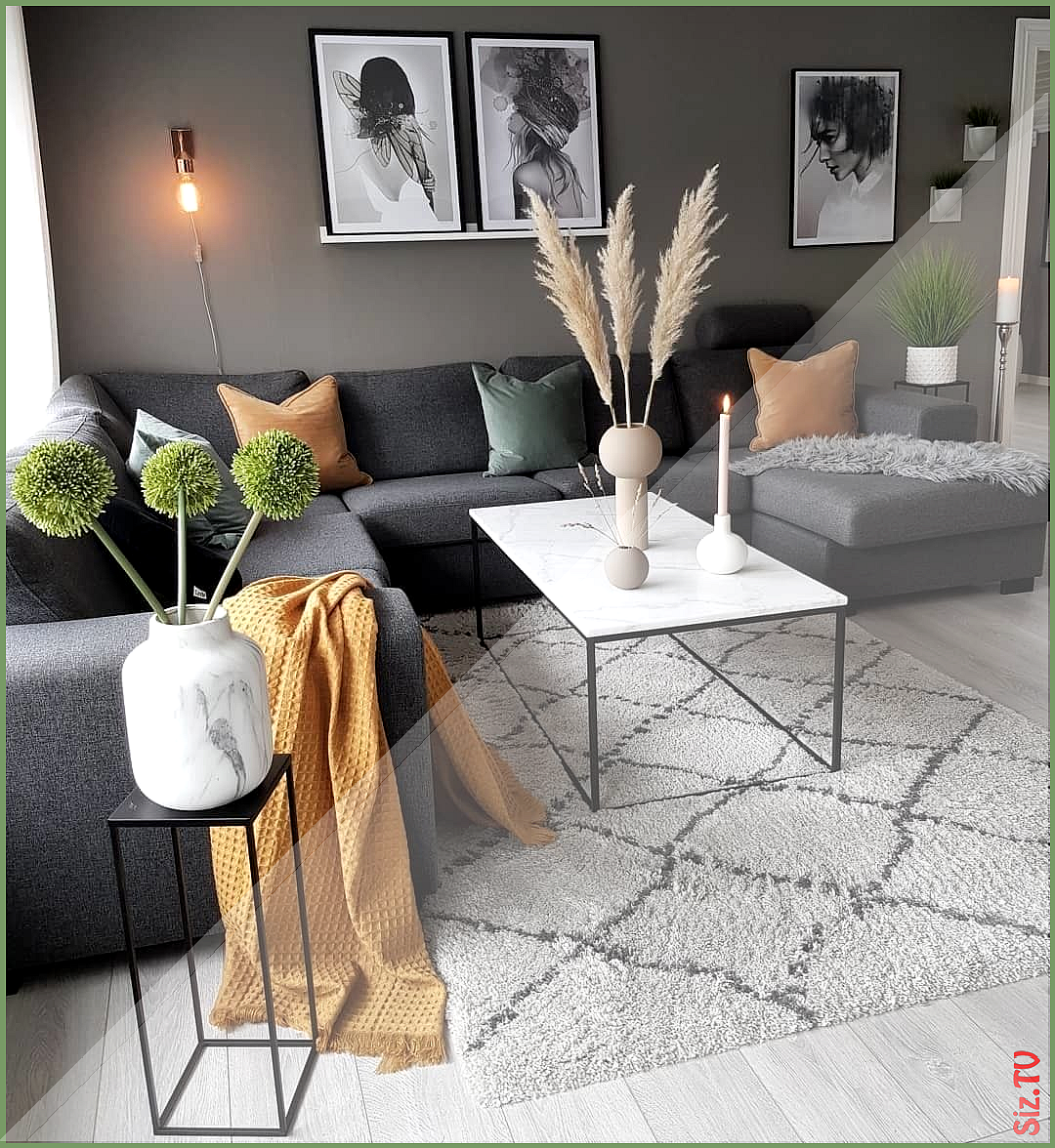 "Photo of Uniqfind on Instagram: ""The pops of colour totally change this living space by…"