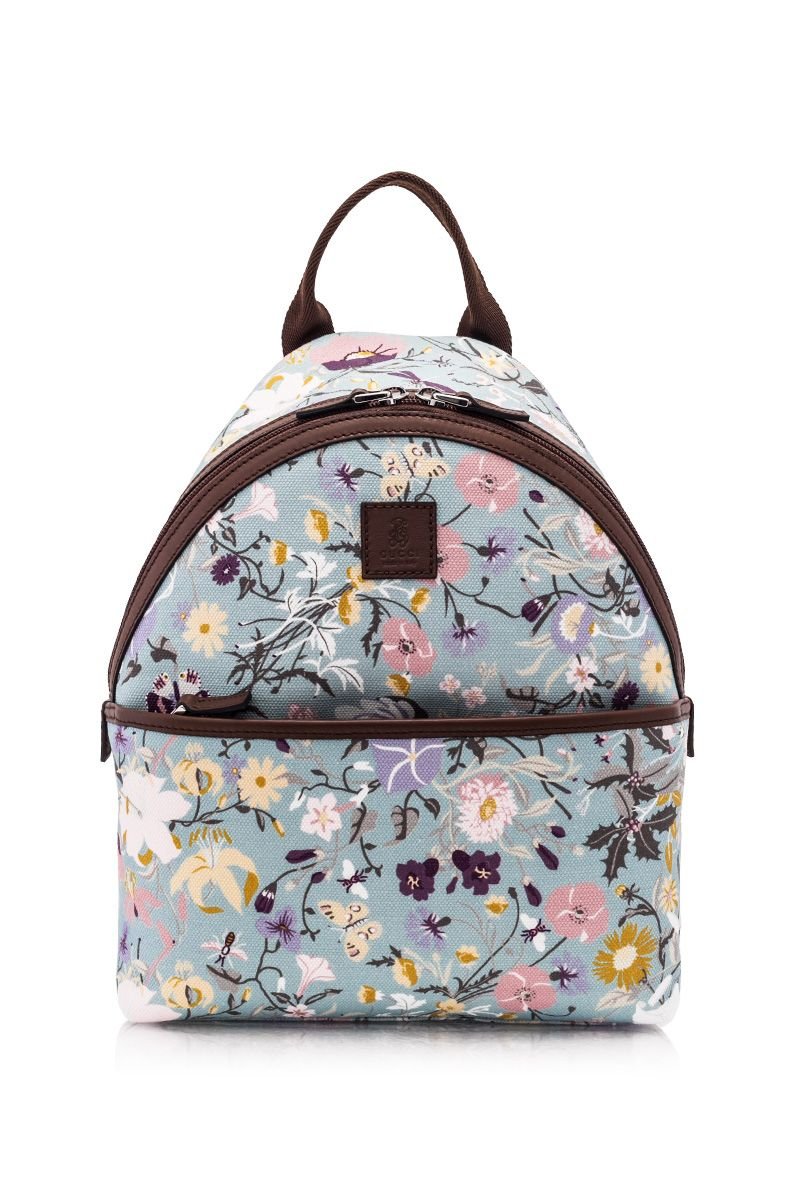 8a7331b3ad6 Gucci Kid s Floral Print Backpack Multi - GUCCI