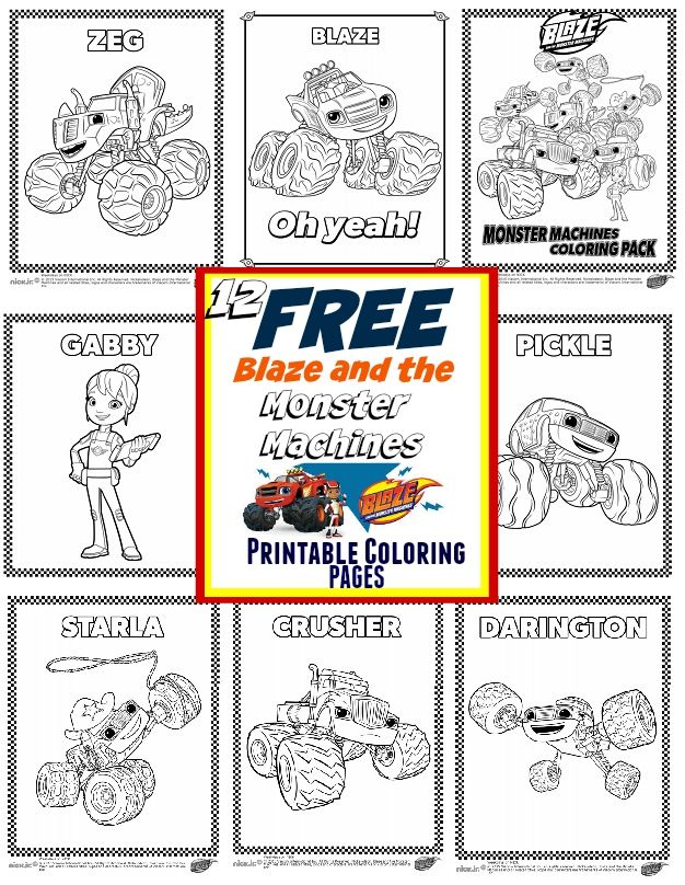 Blaze And The Monster Machines Party Ideas Free Printable C