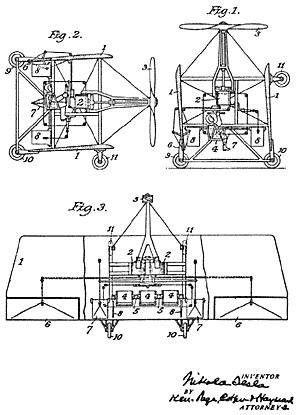 Diário sobre tudo. Nicola Tesla e suas invenções