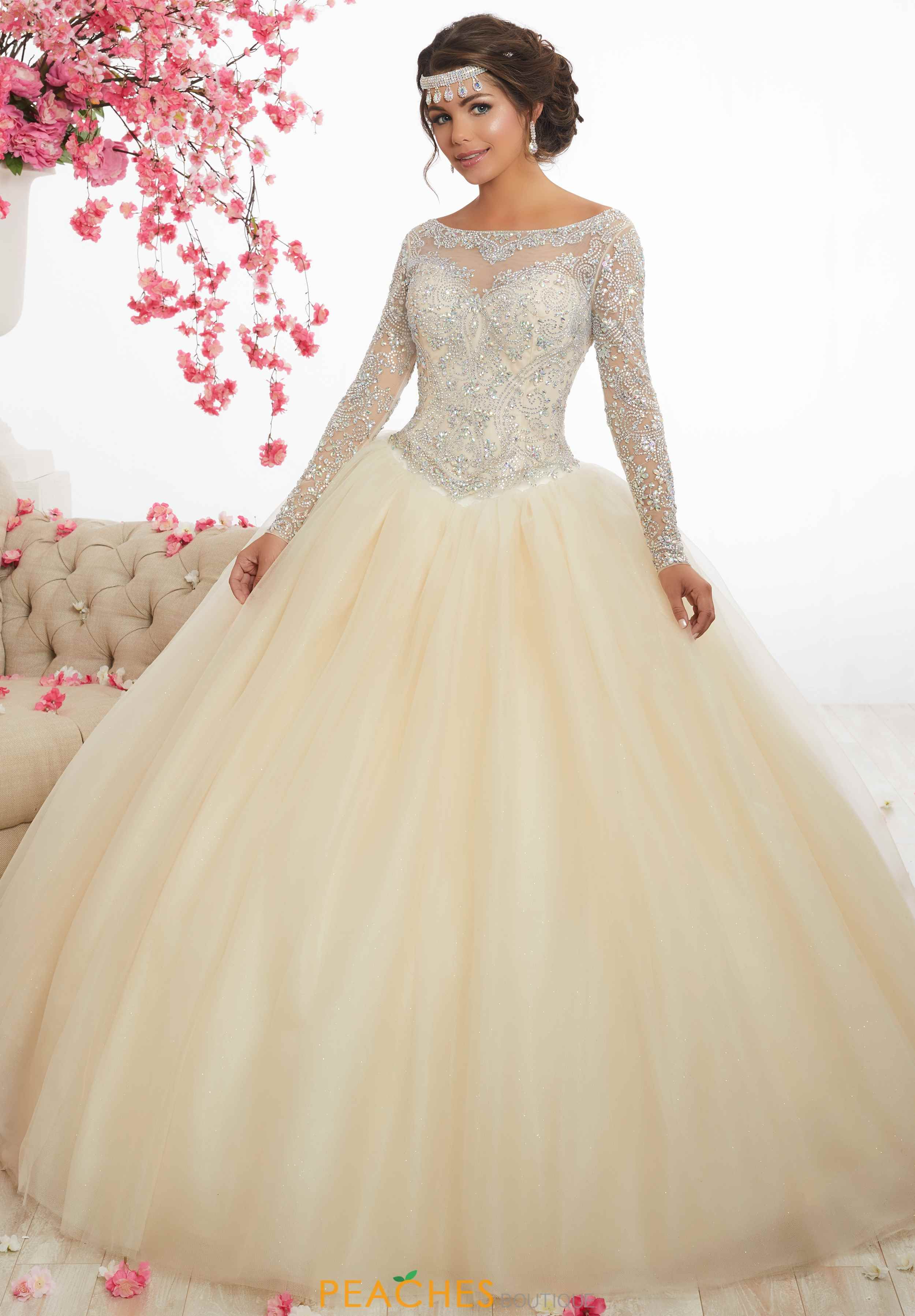 7204d80113c Tiffany Quince Beaded Long 56347 Dress in 2019