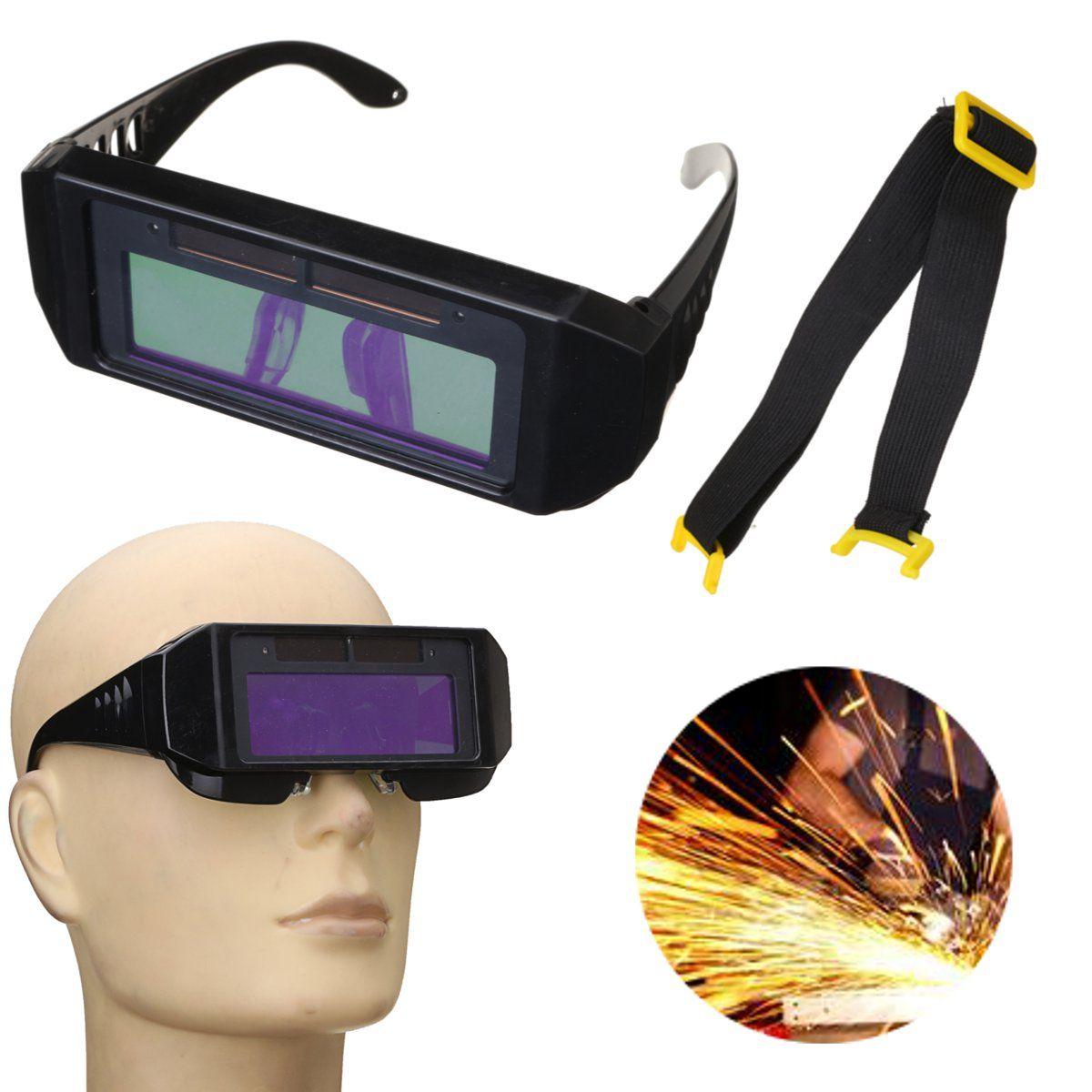 Solar Powered Auto Darkening Welding Mask Helmet Eyes
